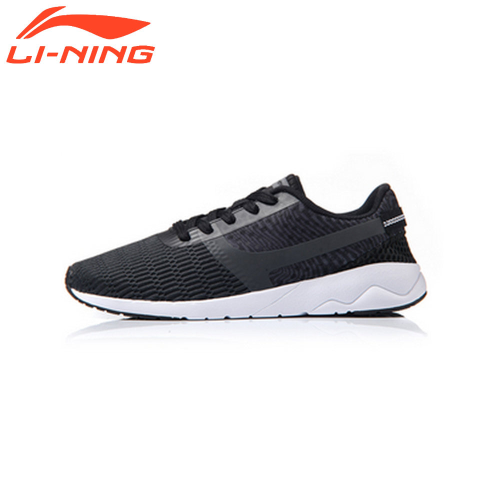 Li-Ning Brand Men Walking Shoes LiNing Heather Sports Life Breathable Sneakers Light Comfort Sports LiNing Shoes AGCM041 original li ning men professional basketball shoes