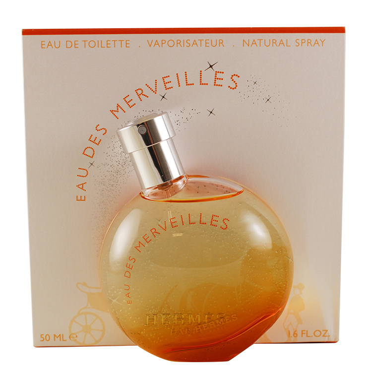 EAU DES MERVEILLES by Hermes for Women EAU DE TOILETTE SPRAY 1.6 oz / 50 ml eau sensuelle by rochas for women eau de toilette spray 3 3 oz 100 ml