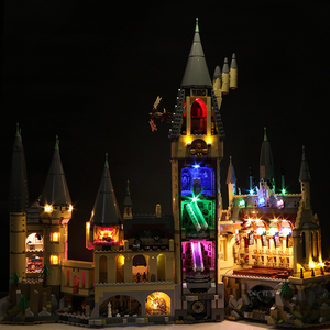 Image 4 - Led ışık seti uyumlu Lego 71043 Harry film 16060 yaratıcı Hogwarts kale yapı taşları tuğla oyuncaklar (sadece led ışık s)