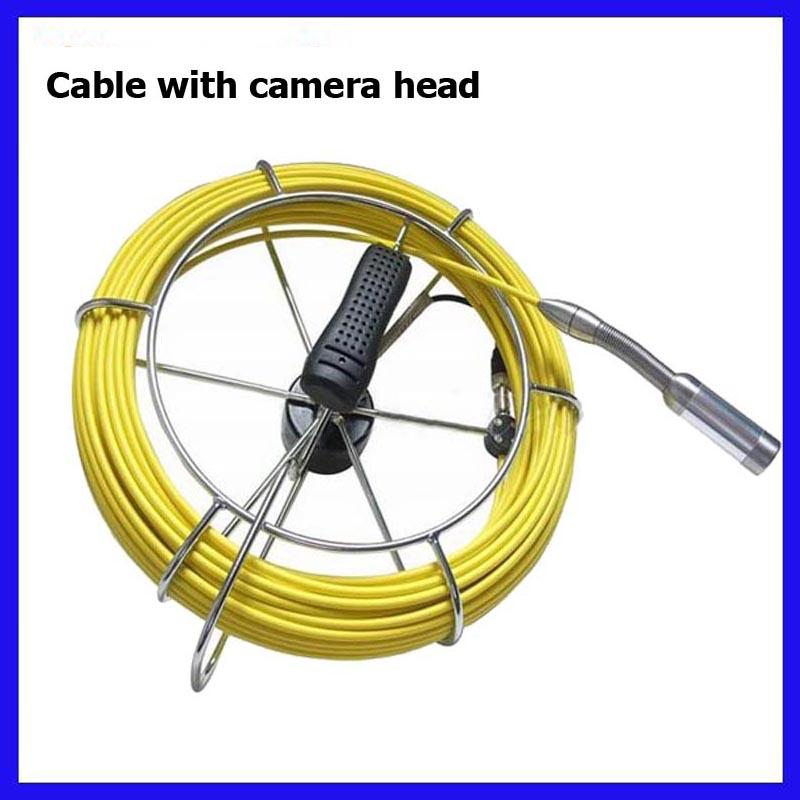 HTB18Uq0SpXXXXcPXVXXq6xXFXXX2 - 9inch Pipe Sewer drain underground plumbing Inspection Camera auto self balancing 23mm camera head DVR self level