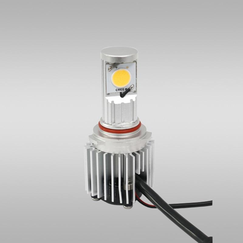 ФОТО 2 pcs/set CREE 30W auto parts super bright automotive LED Head lamp car light bulbs 9006/HB4 A-series Headlight conversion Kits