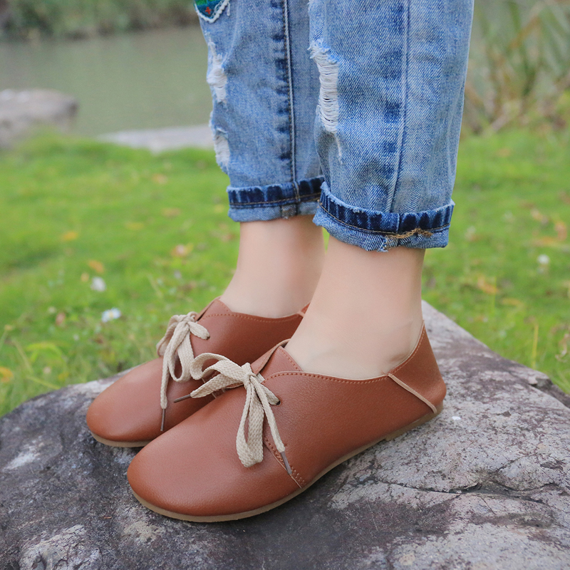 Autumn new style thick bottom comfortable wear - resistant shallow-mouthed doll shoes leisure single shoe package mail 15