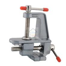 New 36mm 3.5″ Mini Vise Tool Aluminum Vice Handy Craft Hobby Jewelry Clamp Fixed On Table Bench