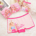 2pcs/lot girl underwear girl boxers children's underwear pants for girls The girl's underwear  cotton A2092-2P