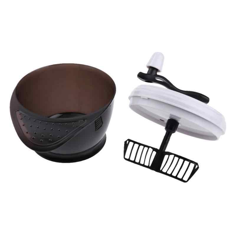Hair Salon cor do cabelo Coloração Tigela Grande Capacidade de Tintura de Cabelo Creme Mixer Agitador Liquidificador Economizando Tempo Hairdresse Barber Acessório