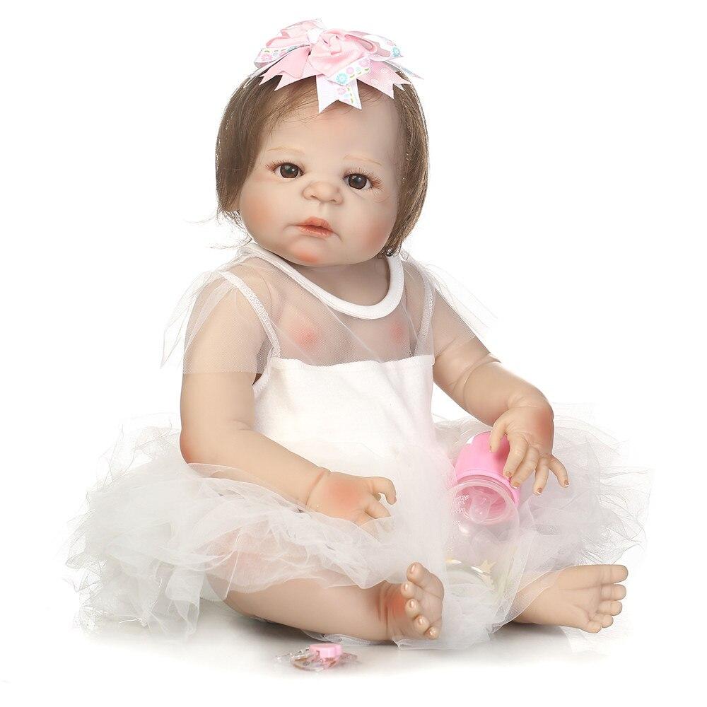 DollMai bebes reborn ragazza della principessa bambole del silicone pieno bambole del bambino rinato giocattoli regalo 23 reale del bambino bambola bambino fare il bagno giocattoli bonecasDollMai bebes reborn ragazza della principessa bambole del silicone pieno bambole del bambino rinato giocattoli regalo 23 reale del bambino bambola bambino fare il bagno giocattoli bonecas