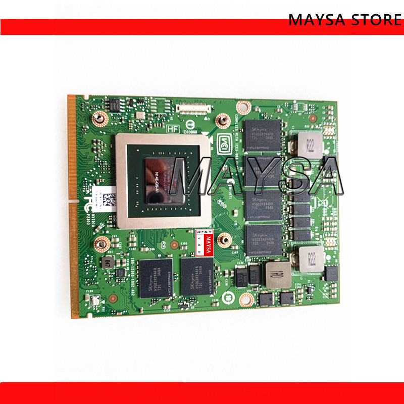 0HW6C9 for M17X M18X <font><b>GTX</b></font> <font><b>770M</b></font> GTX770M 3GB MXM 3.0 GDDR5 Laptop graphics Video Card board 0HW6C9 CN-0HW6C9 N14E-GS-A1 image