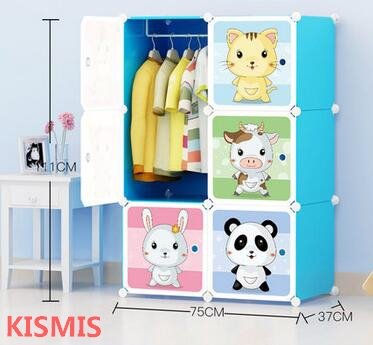 Children wardrobe baby wardrobe baby child wardrobe locker cartoon storage cabinet plastic brief closet wardrobe extra large eco friendly cartoon hanging clothes cabinet wardrobe storage box wire combined type child simple