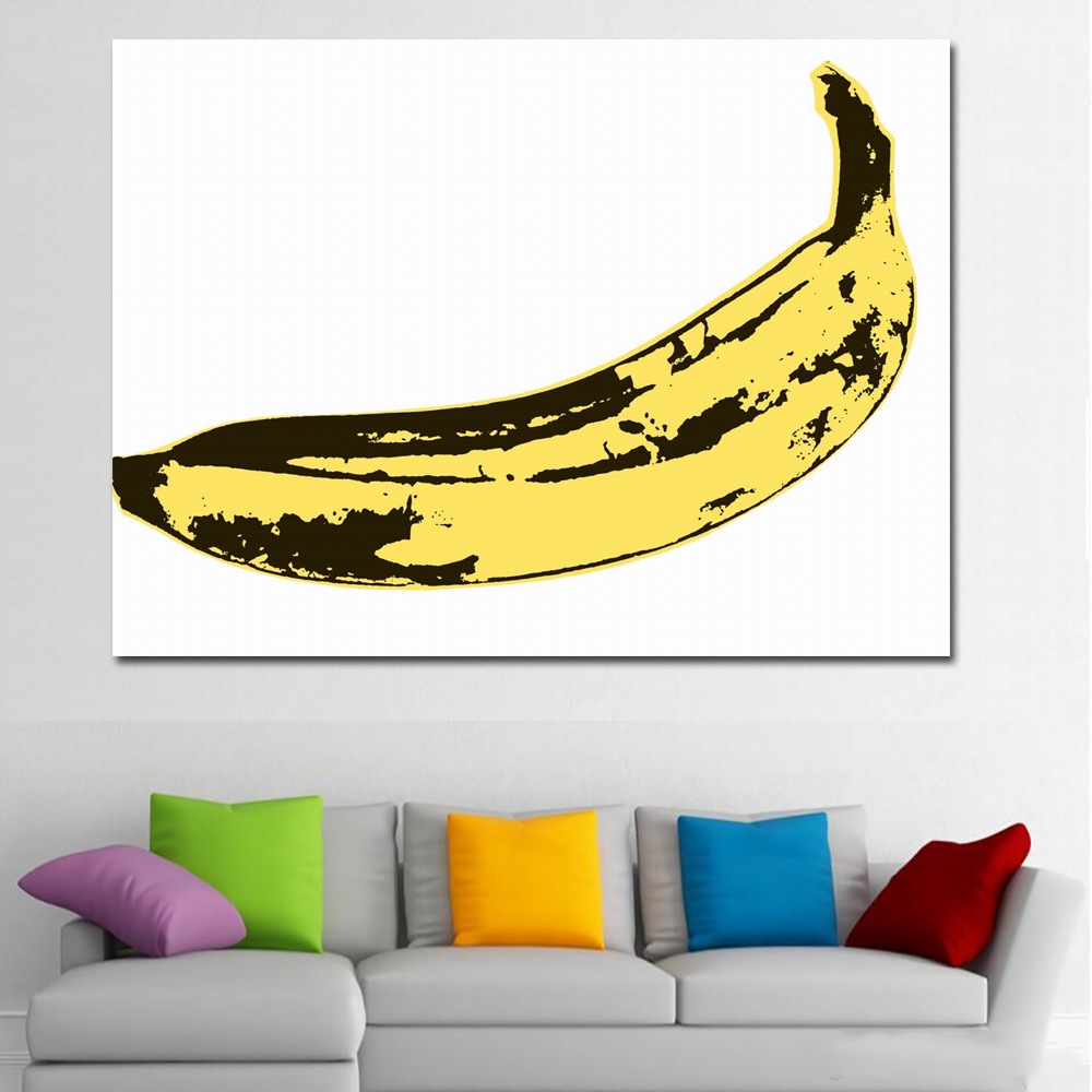 SELFLESSLY Art Andy Warhol Canvas Print Poster Four Color Dog Animal ...