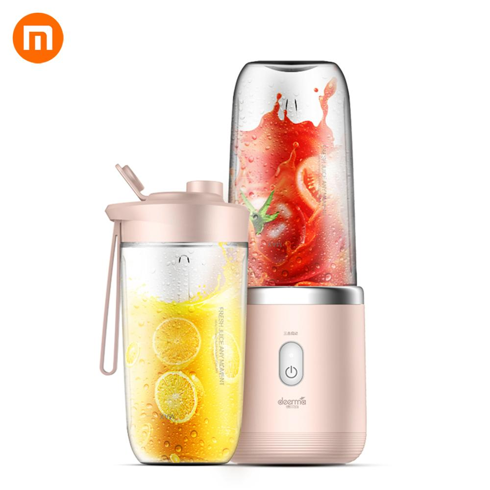 In Stock Original Xiaomi Deerma Automatic Juicer Multi-Functional Mini Electric Portable USB Juicer For Xiaomi Smart Home