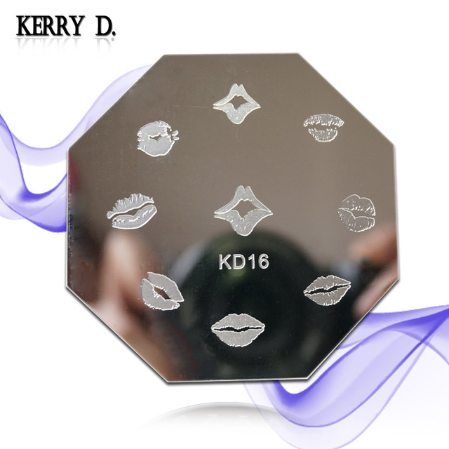 stamping nail art image plate LO & CF & KD series you can choose designs template nail stamp