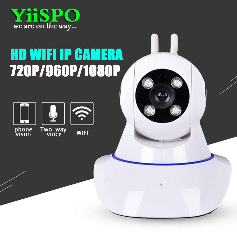 YiiSPO WIFI home camera IPnetwork camera Security Camera 720P/960P/1080P Baby Monitor Two Way Audio Night Vision CCTV indoor 2MP