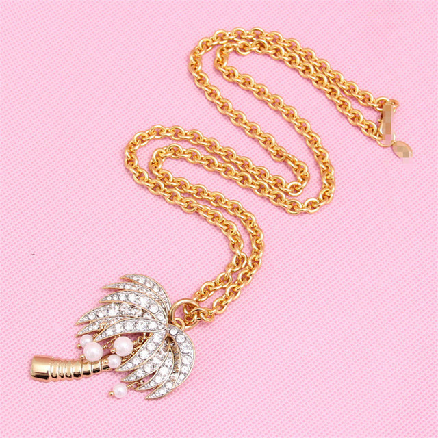 XQ Free shipping 2015 Coconut pearl necklace and high-end jewelry party gift fashion necklaces for women