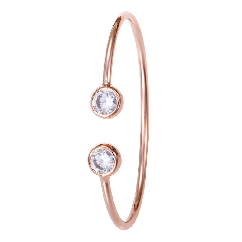 8-Fashion Luxury Carter Love Bracelet Crystal Charms Bracelet & Bangle Gold Color Stainless Steel Jewelry Valentines Day Gift