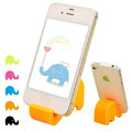 Universal Mobile Phone Holder Silicone Lovely Mini Elephant Stand For iphone Cellphone Fashion Gifts Multifunction Phone Holder