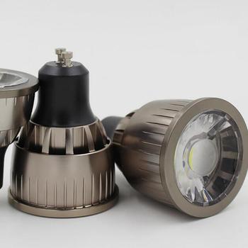цена на Wholesale price High Power Led Spot Light GU10 COB Spotlight Bulb Lamp 9W White Warm White Lamps AC85-265V Led Light