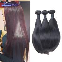 Peruvian Virgin Hair Straight 3PCS LOT Unprocessed 7a Peruvian Straight Human Hair Weave Factory Price Mario Hair