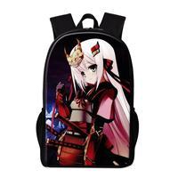Anime Girls School Backpack 16 Inch Big Schoolbags For Teenager Women Fashion Travel Rucksack Ballet Yoga Printed Female Bookbag