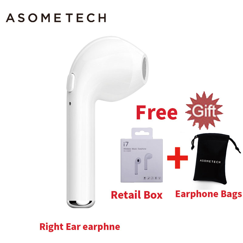 i7R Mini Bluetooth Earbud Headset Earphone For iPhone i7 Xiaomi Xiomi SONY Wireless Invisible Stereo Portable Earpieces With Mic