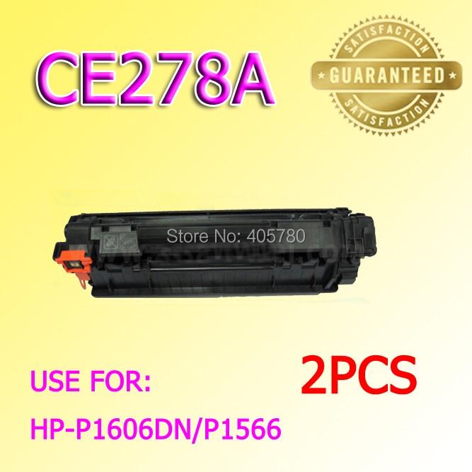 Großhandel 2 stücke 278A tonerkartusche 78A kompatibel für HP P1566 P1536 P1606dn...
