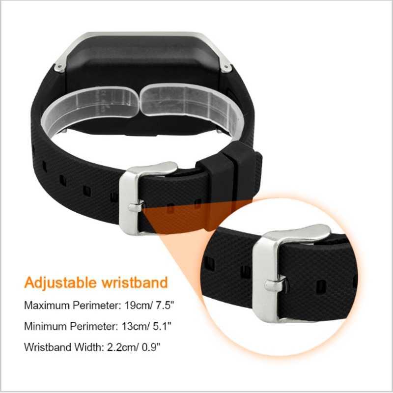 Excelvan Hồ Thông Minh Aplus GV18 Đồng Hồ Sync Notifier Hỗ Trợ Sim Thẻ Kết Nối Bluetooth cho Điện Thoại Android Smartwatch Đồng Hồ