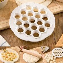 Hot Dumpling Mold Maker Gadgets Tool Dough Press Ravioli Making Mould DIY Kitchen ABS material Pastry Tools
