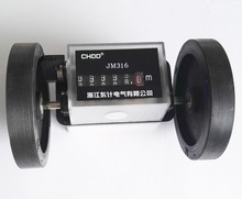JM316 Roller wheel mechanical counter meter textile printing artificial leather plastic film length record