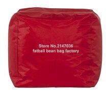 Красный мода мешок фасоли османской пуф, стул стулья