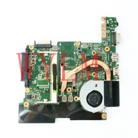 1015B Mainboard REV1 2G For ASUS EEE PC 1015B Laptop Motherboard On Board CPU DDR3 100