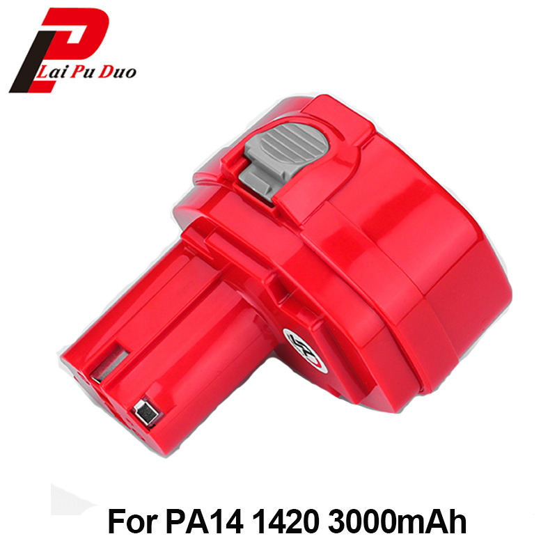14.4V 3000mAh NI-MH Power tool replacement Rechargeable battery for Makita 1420 1422 1433 PA14 1420 1422 1433 1434 JR140D цена 2017