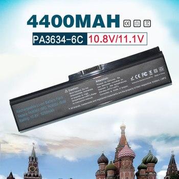 Golooloo 11.1v 4400mAh PA3634 PA3635 Laptop Battery for Toshiba Satellite C660 A665D C640 C645D C640D C650 C655 C655D C660 C660D