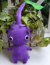 Promote Pikmin Purple Leaf  Plush Toy  Lovely Gift For Kids