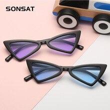 Новые детские солнцезащитные очки милый детский тренд Детские винтажные Детские солнечные очки UV400 для мальчиков и девочек милые крутые очки