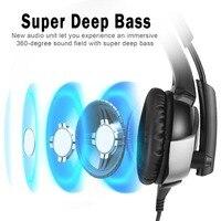 K5 Best Gaming Headset Gamer Deep Bass Gaming Headphones Stereo Headphones for PS4 Gamepad New Xbox Laptop Compute Stereo Headph