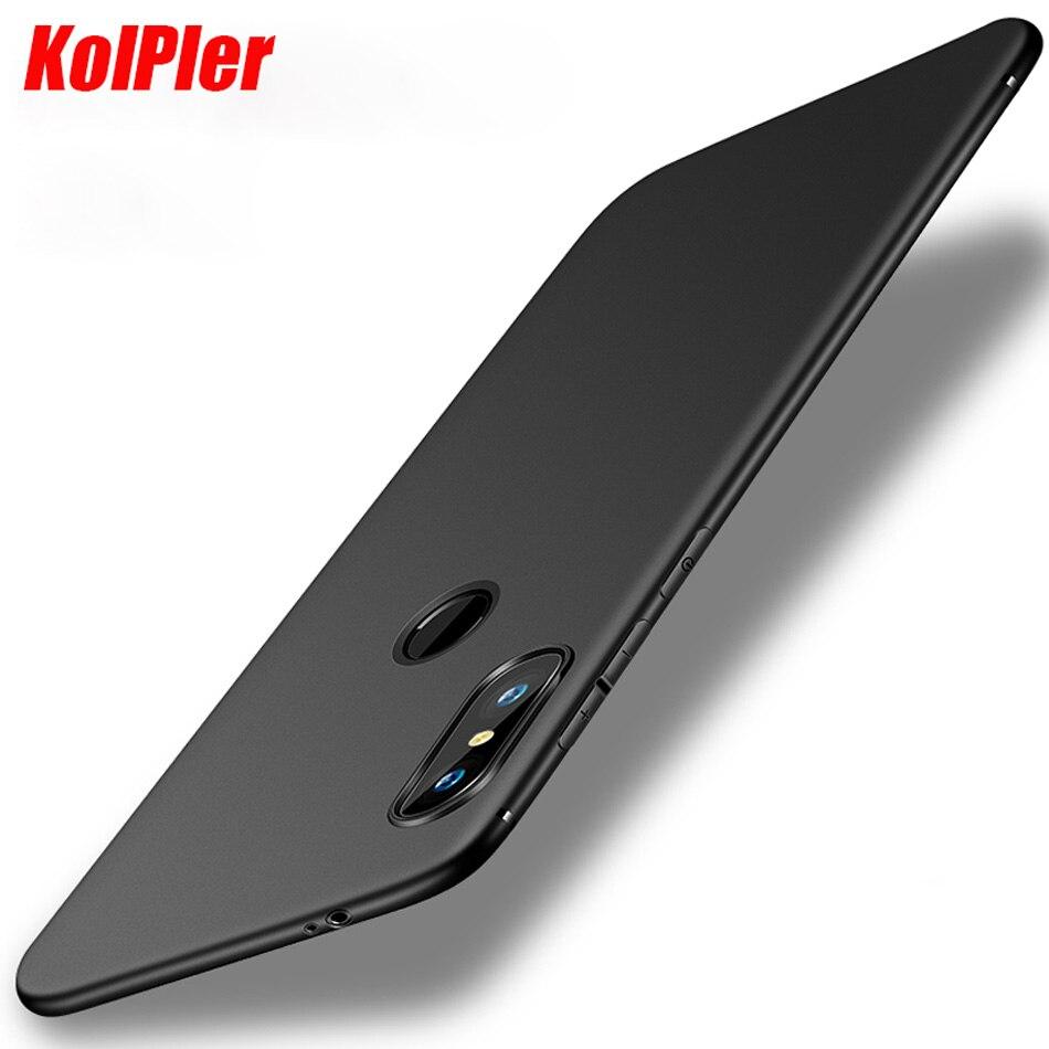 KOLPLER case for xiaomi Redmi Note 5 case Soft TPU Ultra matte Thin light Shockproof bumper cover on for Redmi Note 5 Case Capa