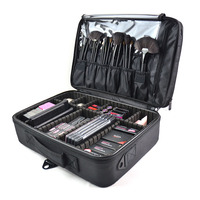 New Fashion Cosmetic Bag Travel Makeup Organizer Cosmetics Pouch Bag High Quality Make Up Bag Professional