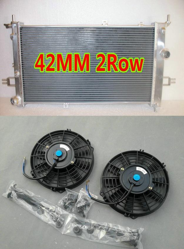 2ROW Opel Vauxhall Astra VXR Z20LEH Turbo Engine Alloy Aluminum Radiator