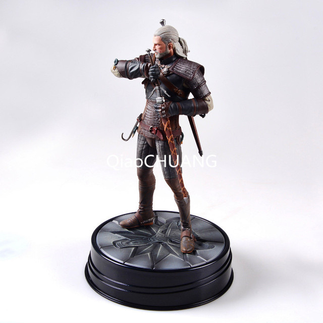 The Witcher 3: Wild Hunt Geralt Of Rivia Movie Figures Action & Toy Figures PVC Model Collection For Brinquedos Retial Box 1
