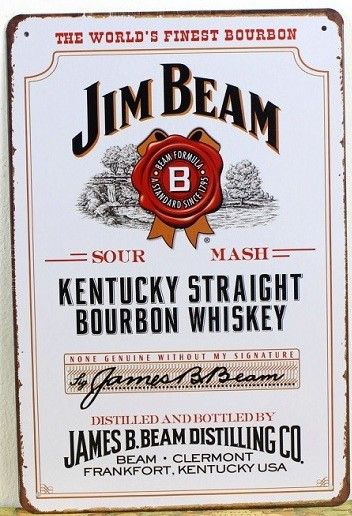 Popular Jim Beam Sign-Buy Cheap Jim Beam Sign lots from China Jim ...