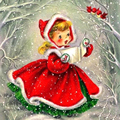 Рождественская Алмазная Вышивка девушка алмазов картина камни в форме ромба/круглые картину Стразы Новое поступление Алмазная мозаика