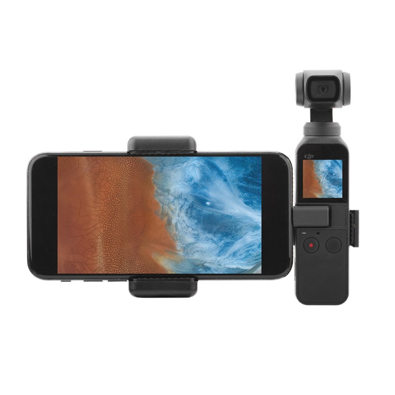 New Arrival Gimbal Smart Phone Stand Cellphone Holder Accessories Mount Metal Clip For DJI OSMO Pocket PTZ Camera