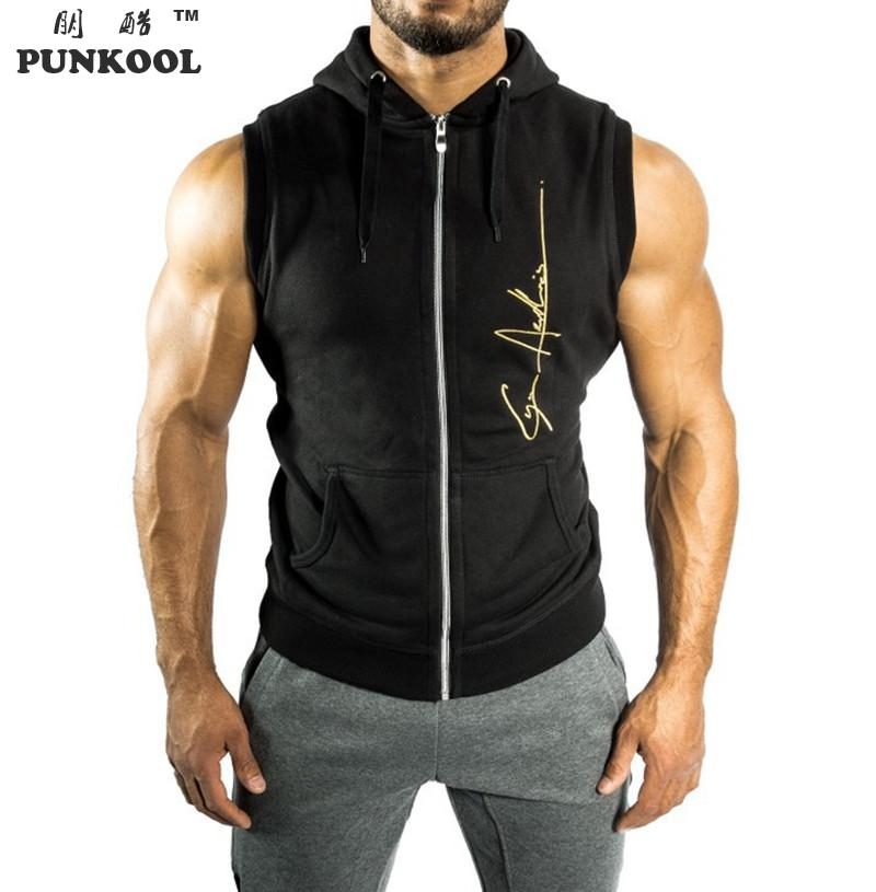 sleeveless hoodie men trendy clothes. Black Bedroom Furniture Sets. Home Design Ideas