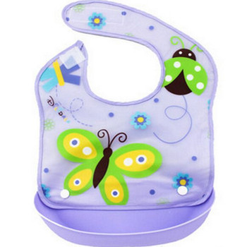 2016 New Design Detachable Baby Bibs Waterproof Saliva Towel Lunch Newborn Cartoon Bibs 1