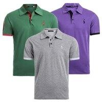 Комплект из 3 предметов распродажа 100% хлопковая Футболка мужская однотонная облегающая футболка с коротким рукавом модная повседневная фу...