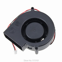 1pcs Lot GDT DC 12V 2P Brushless Black Cooling Blower Fan 97mm 97 97x33mm 9733 Fan