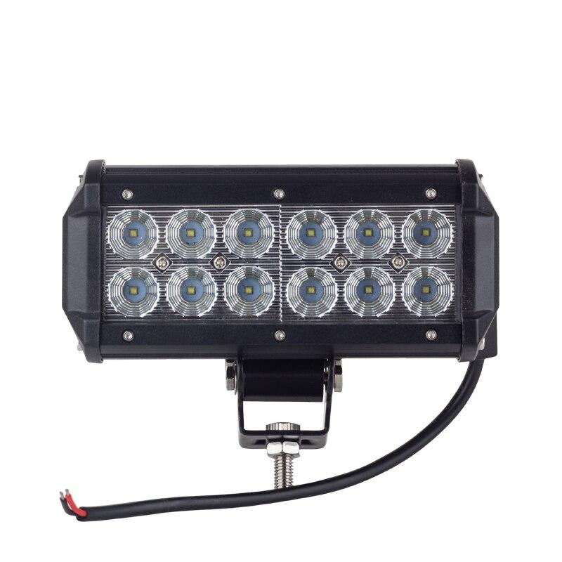 10pcs 36W Cree Chip Led Work Light Bar 12V Off Road Car Light for Truck 4X4 Accessories Flood Spot ATV Fog Lamp Day Light