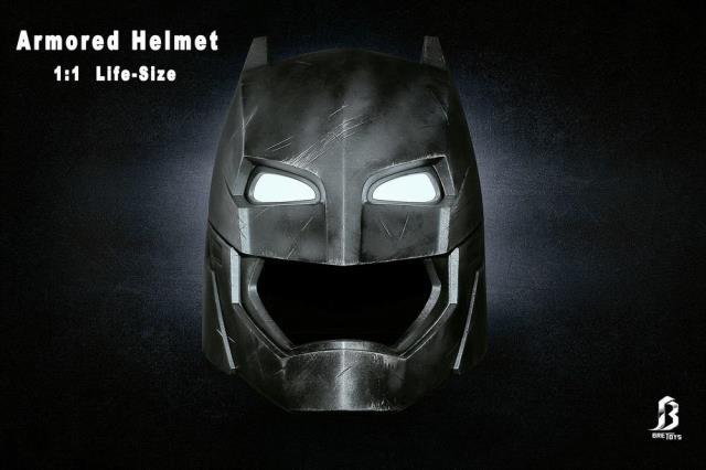 Batman Heavy armor 1:1 Armored BatMan Helmet Can Wearable Model Props knl hobby voyager model pea100 m1126 stricker wheeled armored vehicles with additional fence armor metal etching sheet