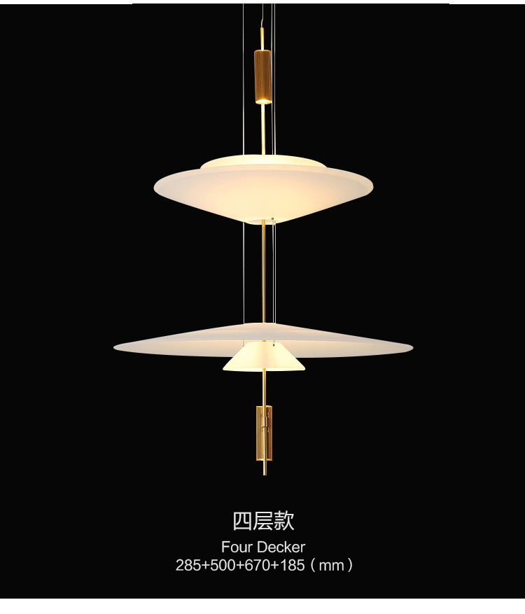 HTB18UxVeouF3KVjSZK9q6zVtXXas - Modern Acrylic LED Pendant Light Shadow Dining Room Kitchen Light Designer Hanging Lamps Indoor Lighting