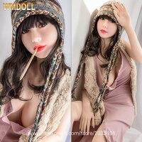 WMDOLL chất lượng Cao Sex Dolls Masturbator Silicone Thực Tế Tình Yêu Búp Bê Kim Loại Skeleton Big Breast Âm Đạo Âm Hộ của Người Lớn Sexy Đồ Chơi