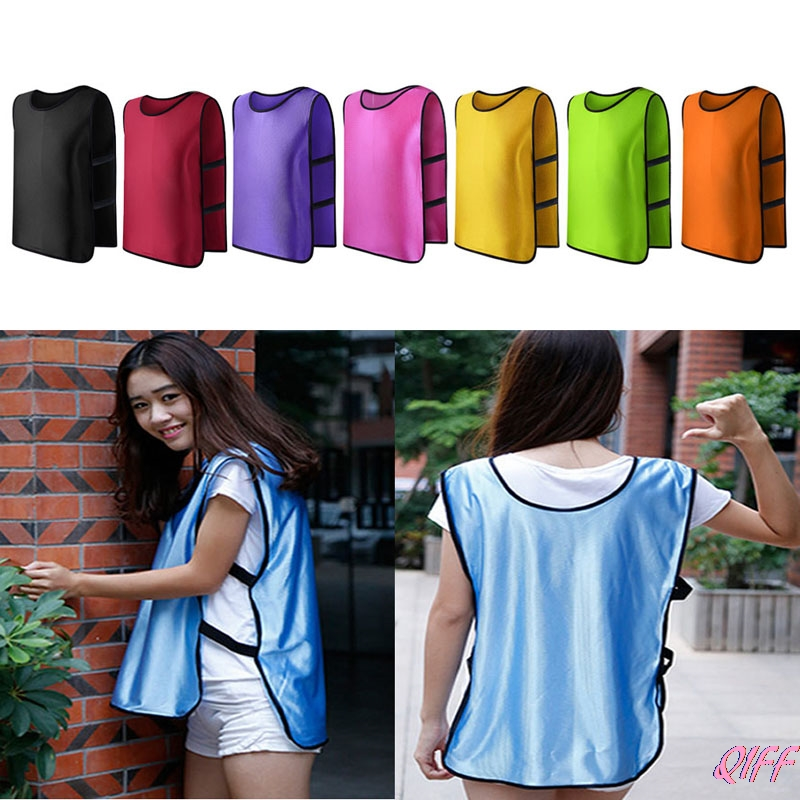 Dropshipping Team Training Scrimmage Vests Soccer Basketball Youth Adult Pinnies Jerseys New APR28